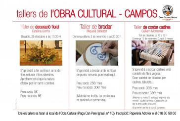 Noves activitats de l'Obra Cultural-Campos