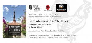 Invitació Modernisme