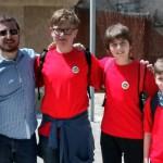 Tres alumnes de l'IES Damià Huguet guanyen la gimcana de la Festa de les Matemàtiques
