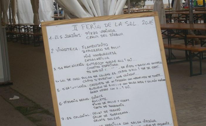 Milers de persones visiten la Fira de la Sal i les Espècies de la Colònia de Sant Jordi