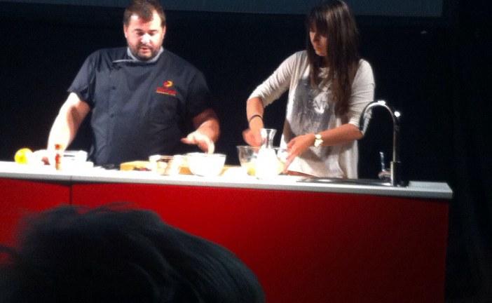Comença la Fira de Maig amb un espectacle culinari
