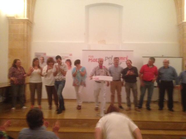 Míting del PSOE amb la presència de Francina Armengol