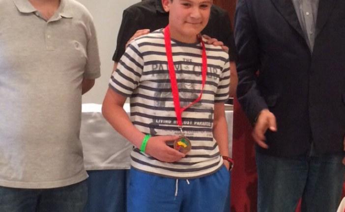 Miquel Bujosa, tercer al Campionat d'escacs sub-14 de les Illes Balears