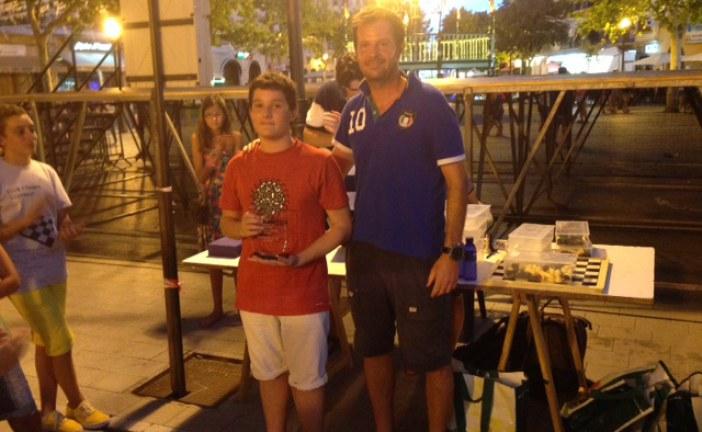 Miquel Lladó, primer sub-16 al torneig d'escacs de Llucmajor