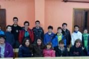Miquel Bujosa, líder del Campionat de Mallorca Juvenil d'escacs, que es juga a Campos