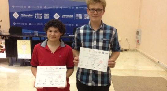 Dos campaners entre els guanyadors de les Proves Cangur
