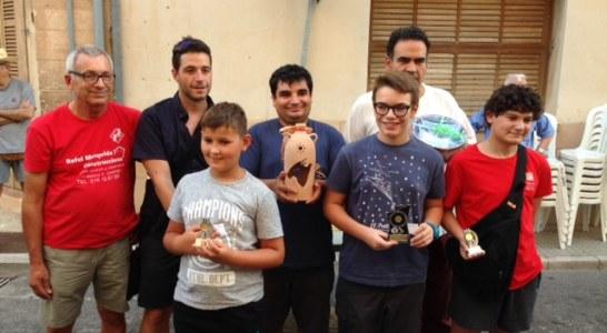 Manuel Queirolo, campió del Torneig de la Mare de Déu d'Agost d'escacs