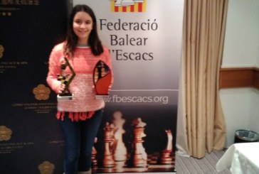 Susana Rubert, campiona juvenil de Mallorca d'escacs