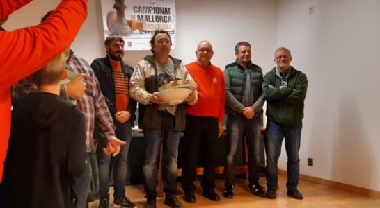 Pedro Mascaró, guanyador del Campionat de Mallorca Individual d'escacs