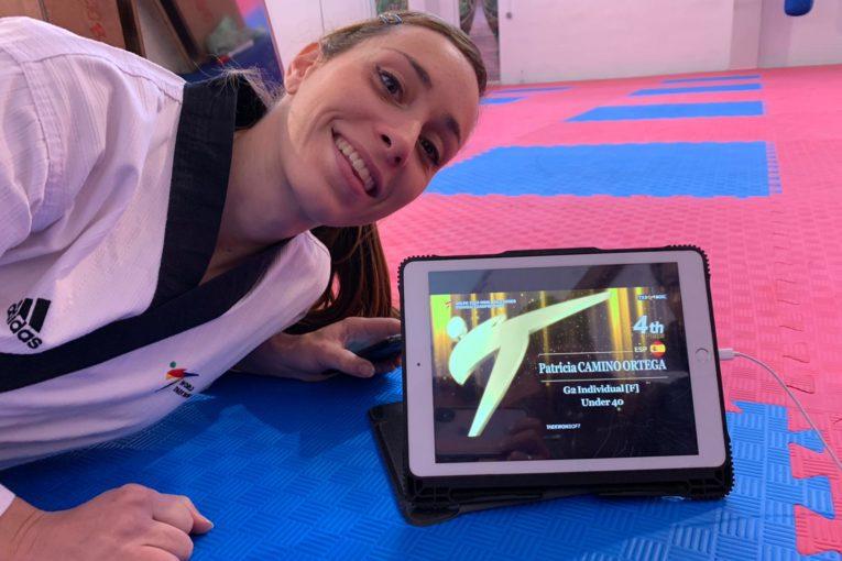 Patricia Camino, medalla de bronze al Campionat del Món de Taek-wondo