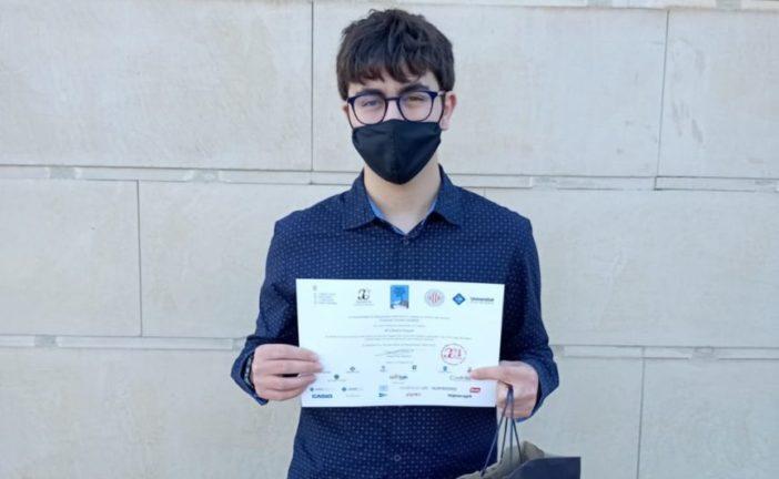 Un alumne de l'IES Damià Huguet, premiat a les proves Cangur de matemàtiques
