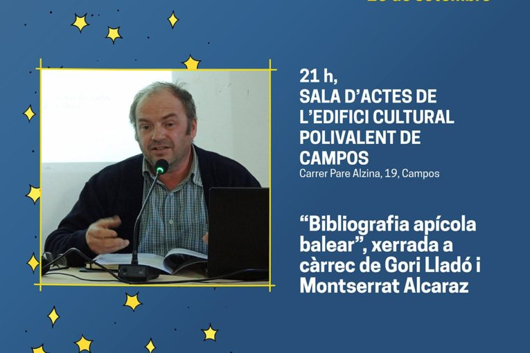 Literanit s'estrena a Campos amb una conferència de Gori Lladó i Montserrat Alcaraz