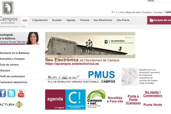 Ple de l'Ajuntament de Campos de dia trenta de setembre del 2021
